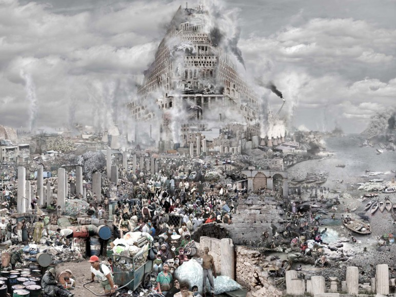 The tower of Babel: Pollution