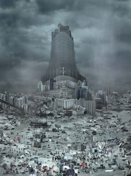 The tower of Babel: The flood