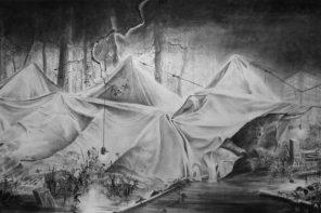 Grande eau à Listrik: interview fleuve de Christine Boillat
