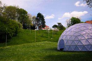 ARK: un dôme à 360° connecte méditation et technologie