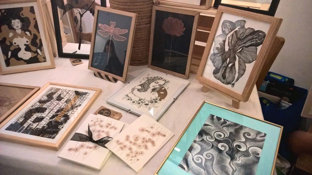 Le travail des Marcelles, exposé lors du festival In Situ