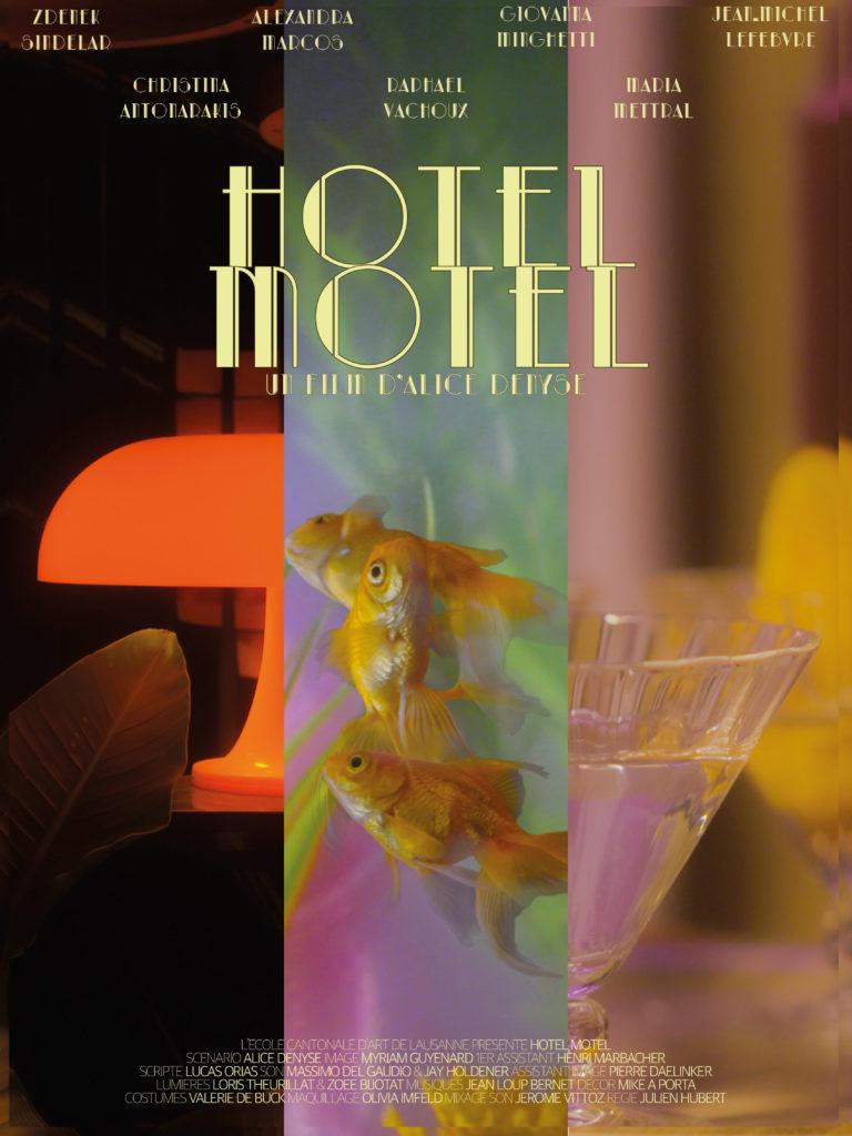 affiche_court métrage_hotel_motel